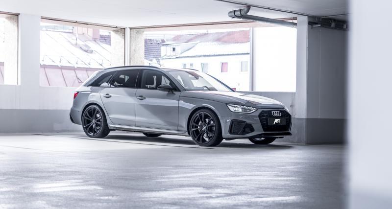 Audi A4 par ABT Sportsline : le préparateur passe à l'hybridation légère