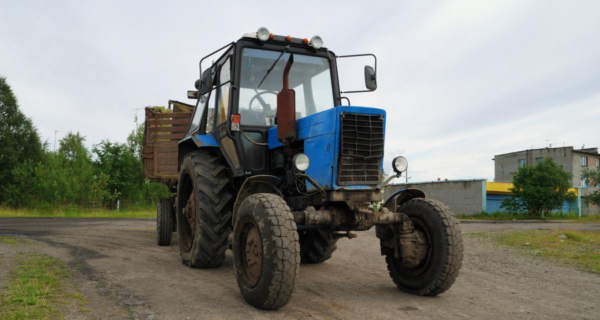 Le tracteur d'une association bretonne flashé à 146 km/h en Espagne !