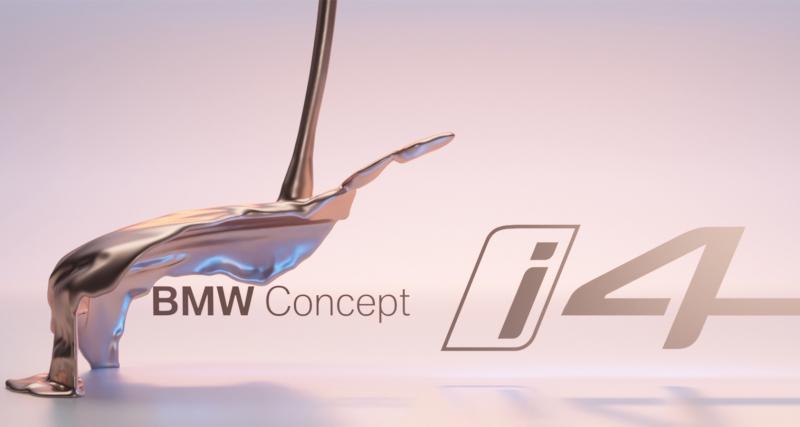 BMW Concept i4 : le coupé 4 portes 100% électrique en route pour Genève