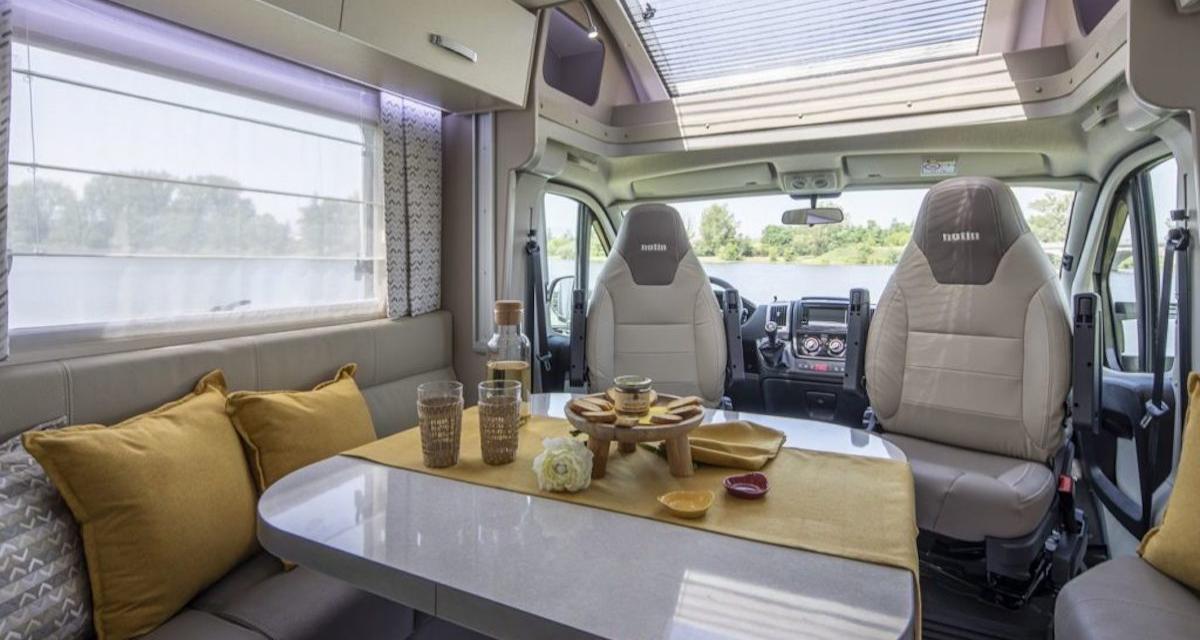 Notin Lugo : camping-car profilé au savoir-faire français