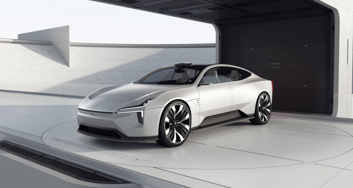 Polestar Precept : un concept-car écolo pour le Salon de Genève 2020