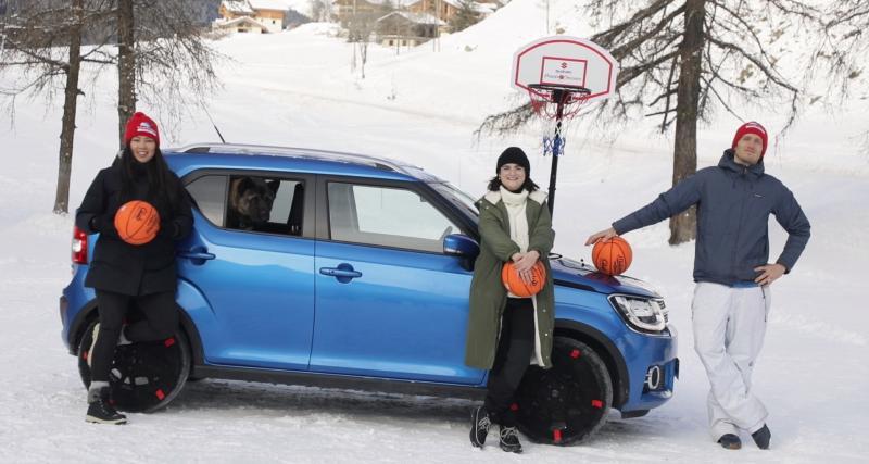 Suzuki Hybride Challenge #1 - la montagne