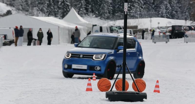 Epreuve n°3 : le Slalom Ball