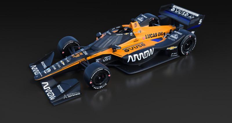 Alonso va participer aux 500 miles d'Indianapolis