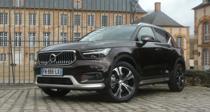 Volvo XC40 Recharge T5 : les images de notre essai du SUV suédois plug-in hybrid