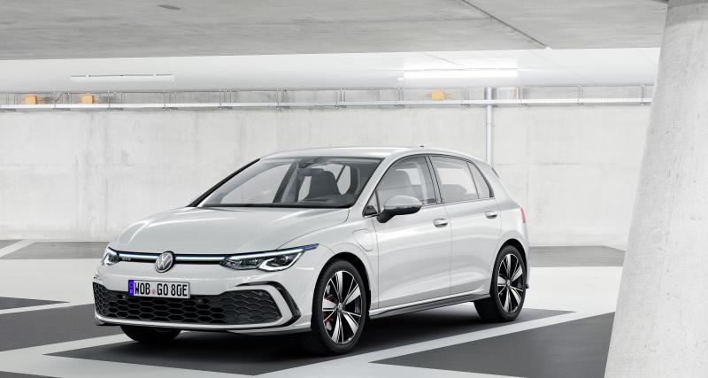 Volkswagen Golf GTE (2020) : la sportive hybride en route pour le Salon de Genève