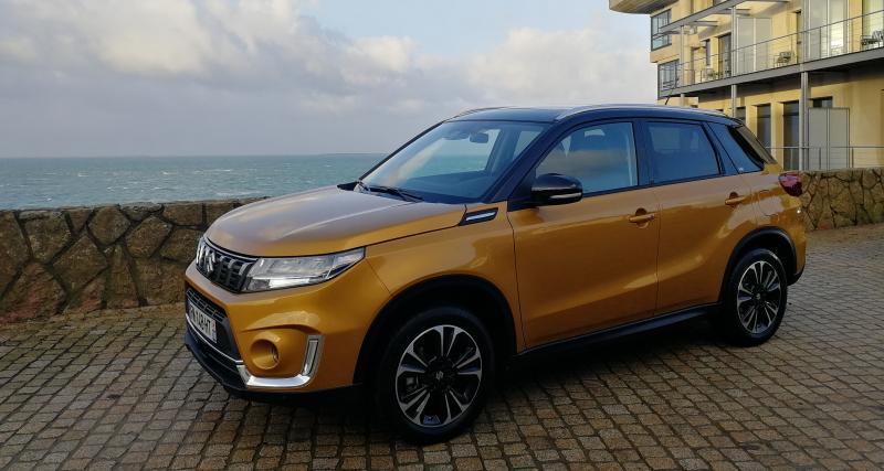 Suzuki Vitara Hybrid : les photos de notre essai en Bretagne