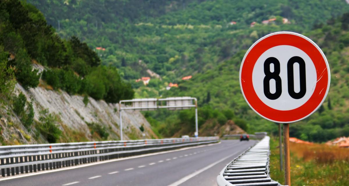 Excès de vitesse : un chauffard contrôlé à 170 km/h sur une départementale à 80