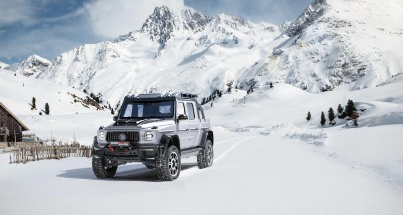 Brabus 800 Adventure XLP : le Mercedes G 63 AMG en mode pick-up de 800 ch