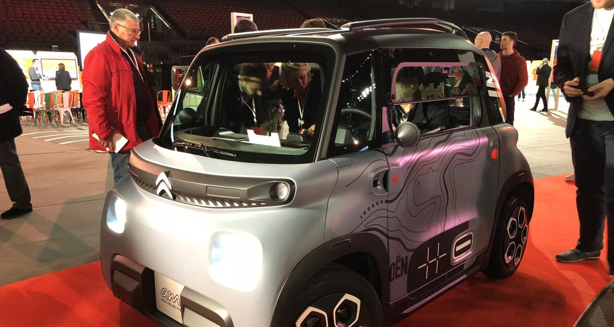 Citroën Ami : la nouvelle amie de Fnac Darty