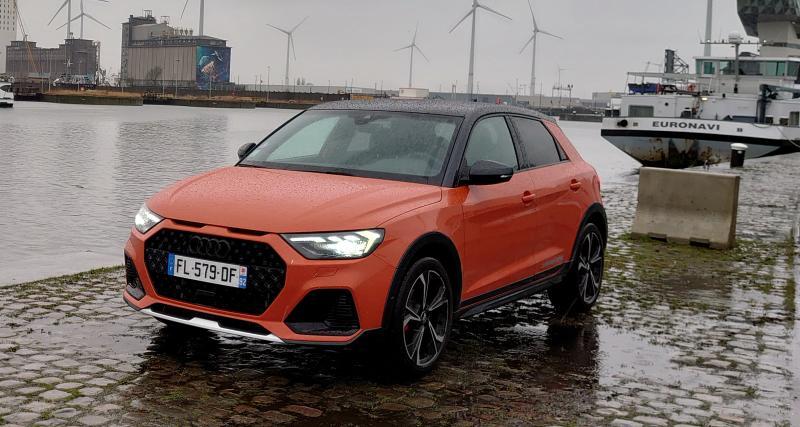Essai Audi A1 Citycarver : nos photos de la citadine premium surélevée