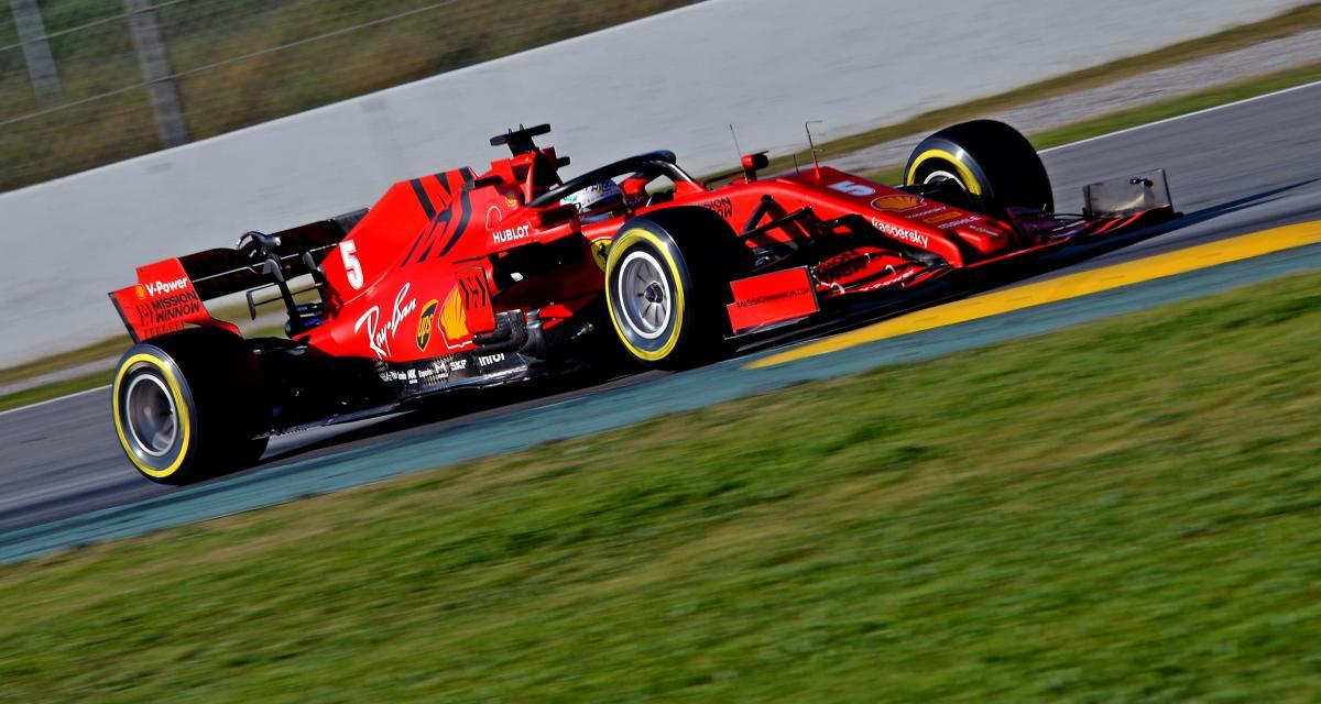 F1 - tests à Barcelone : Vettel mesure les progrès de la SF1000