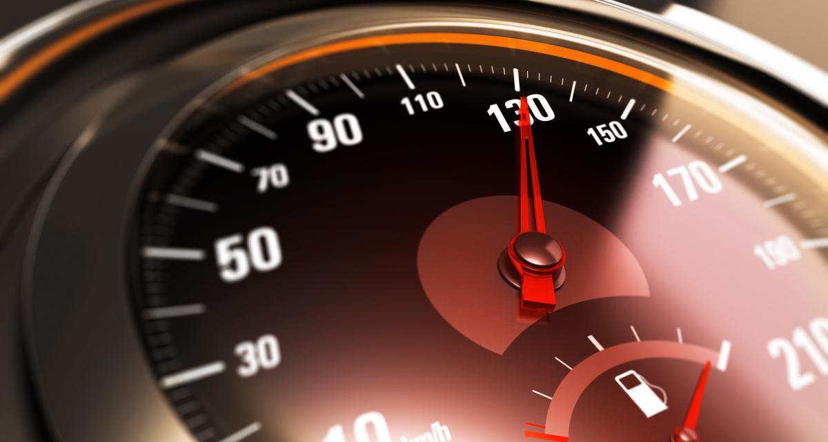 134 km/h sur une départementale : permis retiré et voiture immobilisée