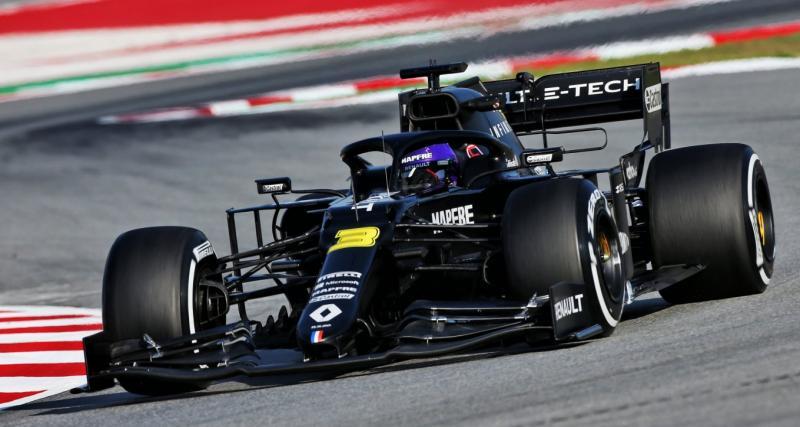 F1 - tests à Barcelone : Ricciardo au sommet, Leclerc et Hamilton dans le rythme