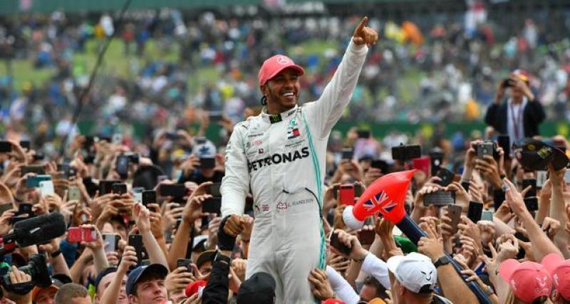 La déclaration de Lewis Hamilton