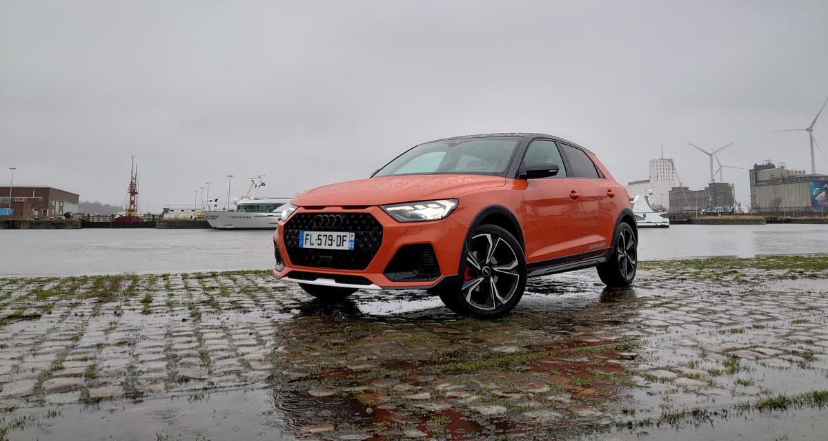 Essai de l'Audi A1 Citycarver : atout psychologique
