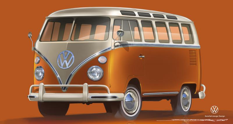 Volkswagen e-Bulli : le futur Combi sera électrique