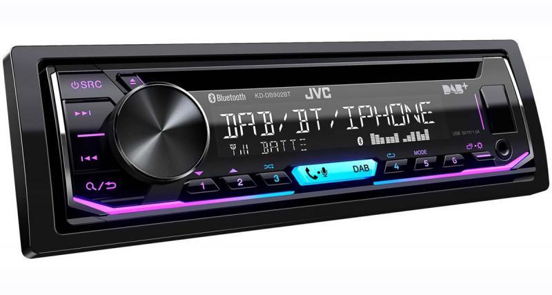 JVC présente un autoradio CD DAB très complet à prix attractif