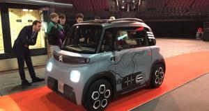 Premier contact : Citroën - AMI 100% ëlectric