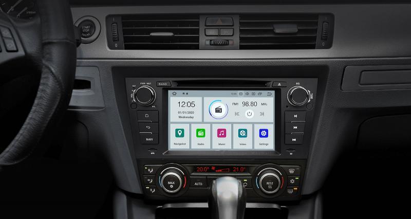 Mela présente un autoradio Android 10 pour les BMW E90