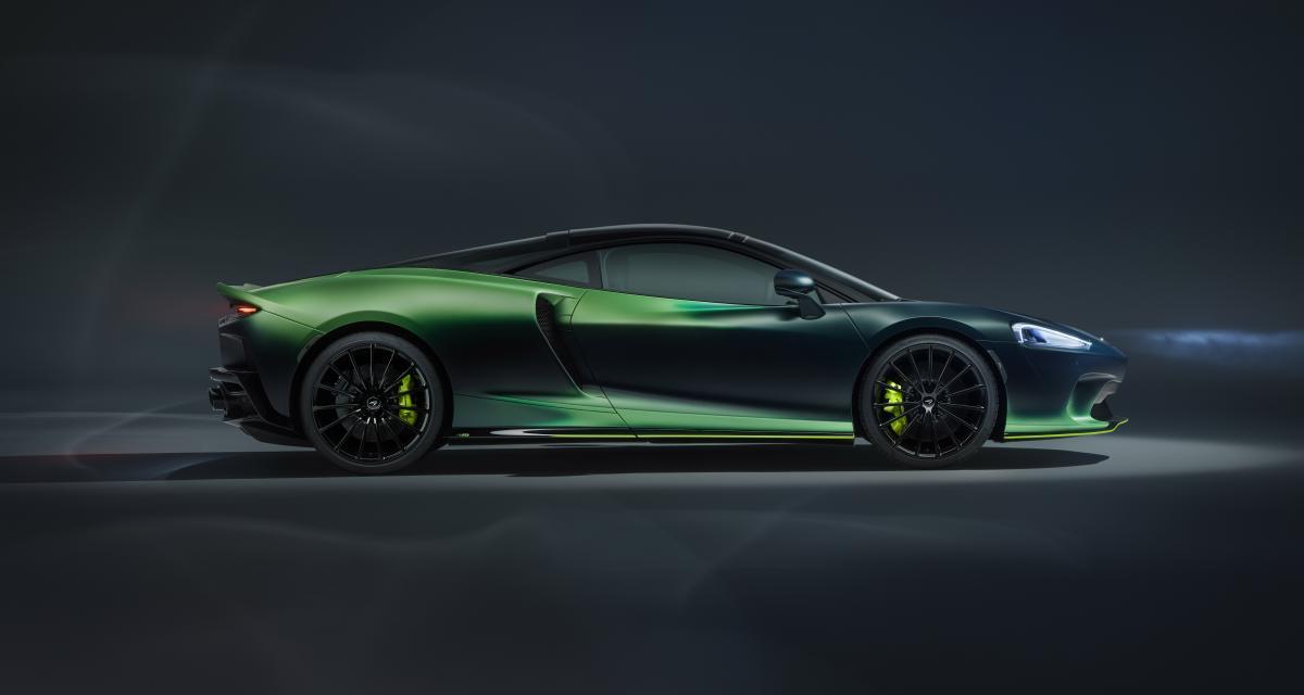 McLaren Verdant Theme GT by MSO : la personnalisation se met au vert