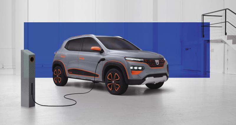 Dacia Spring Electric Concept : 200 km d'autonomie pour le concept électrique