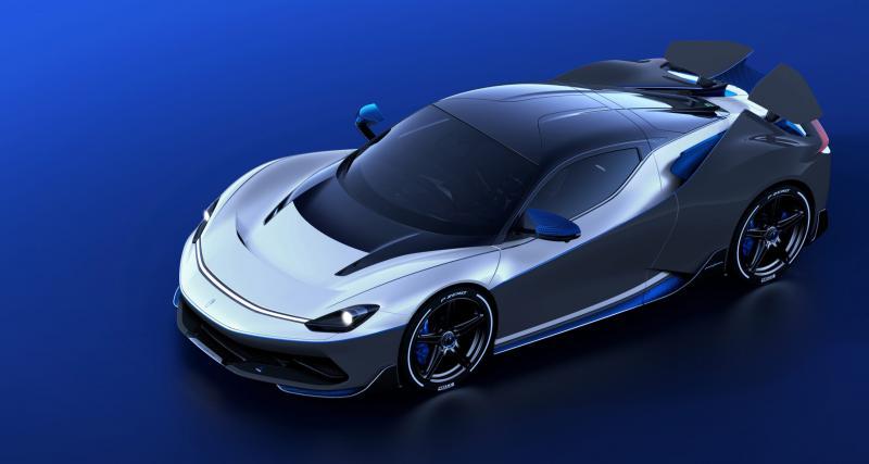Automobili Pininfarina Battista Anniversario : le modèle anniversaire de 1900 ch