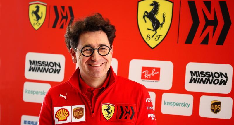 F1 : Binotto dubitatif sur les chances de Ferrari en 2020