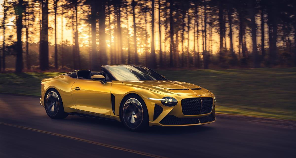 Bentley Bacalar : Mulliner si back