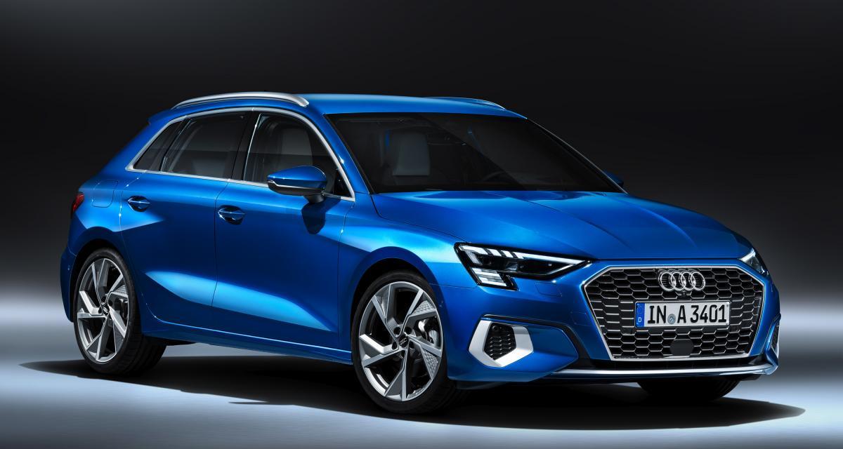 Nouvelle Audi A3 Sportback : la quatrième génération en photos