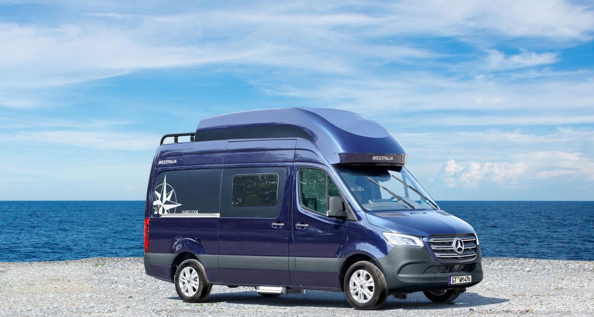 Camping-car : prenez le large avec le fourgon James Cook HD