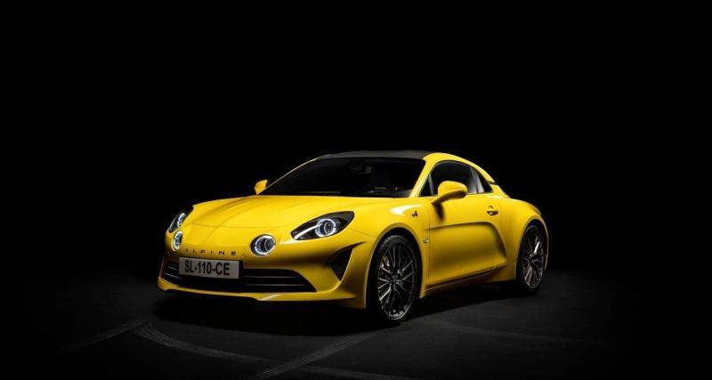 Alpine A110 Color Edition 2020 : du jaune pour un an seulement