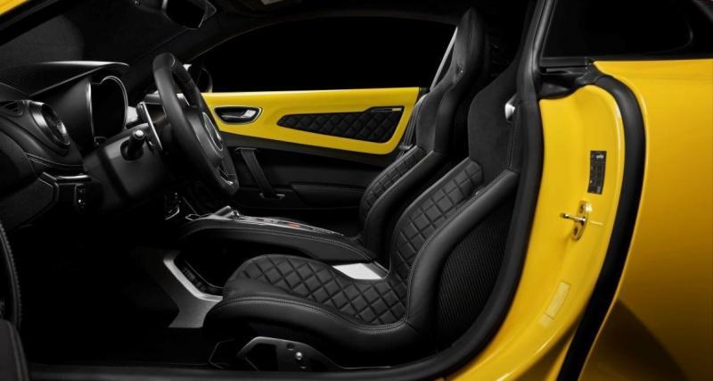 Robe jaune pour l'A110S