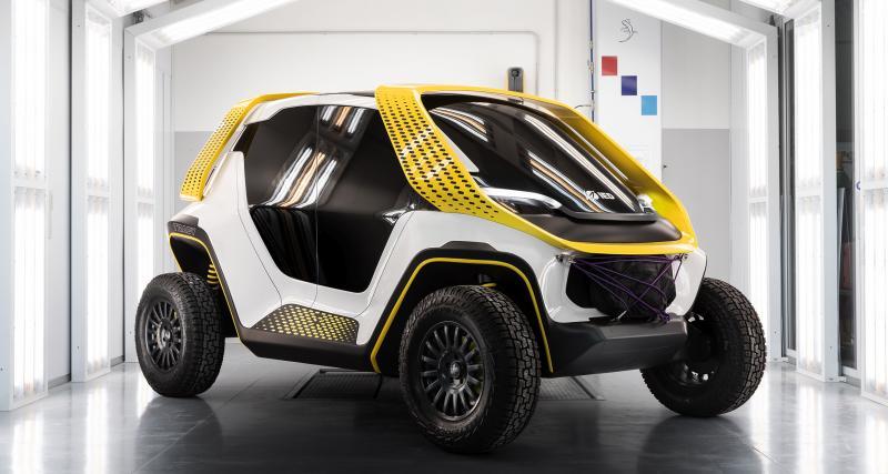 Tracy : un buggy compact 100% électrique développé par des étudiants