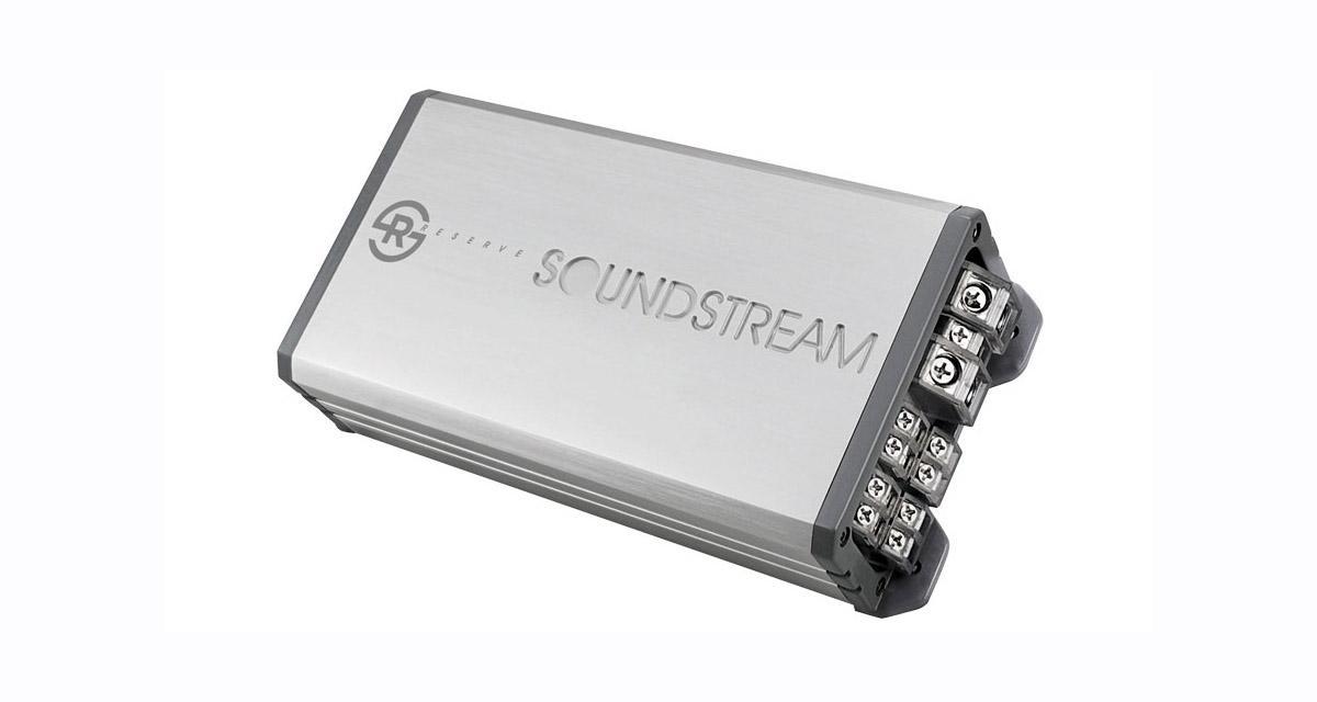 Compacts et puissants, les amplis mono Soundstream Reserve devraient séduire les passionnés de SPL