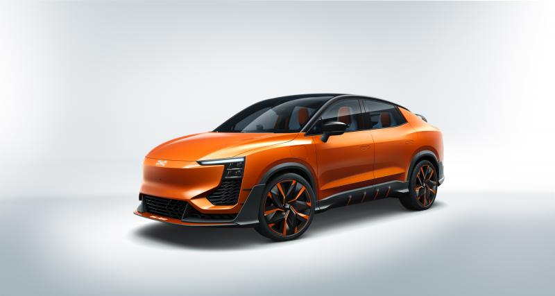 Aiways U6ion : un concept de crossover coupé chinois
