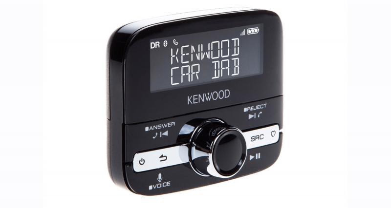 Ajoutez le DAB et le Bluetooth sur l'autoradio d'origine de votre youngtimer avec le Kenwood KTC-500DAB