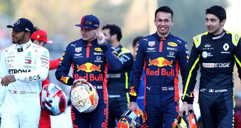 Le tweet de l'écurie Red Bull