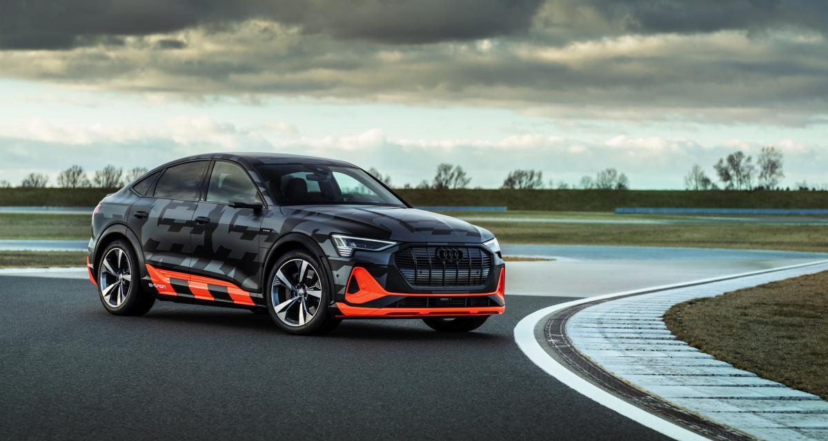 Audi e-tron S : le premier SUV sportif sans bruit chez le constructeur allemand