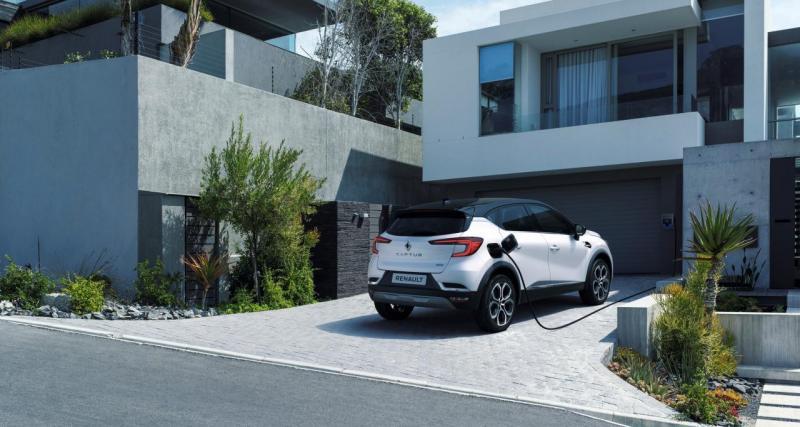 Nouveau Renault Captur E-Tech hybride rechargeable : les prix du SUV français