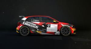 Stéphane Lefebvre et sa copilote Lucie Baud représenteront Sébastien Loeb Racing au rallye du Touquet