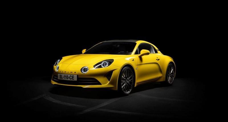 Alpine A110 Color Edition : la sportive jaune tournesol en vidéo