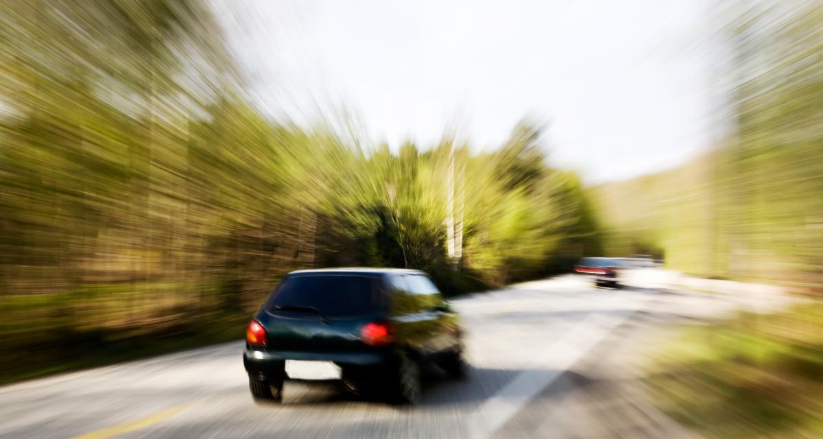À près de 160 km/h sur une départementale : direction le tribunal