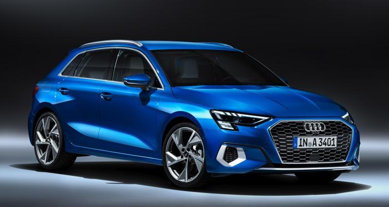 Audi A3 Sportback : la compacte aux anneaux en vidéo
