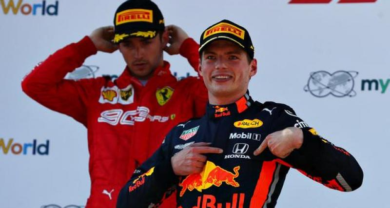 Grand Prix d'Australie de F1 : l'historique de Max Verstappen