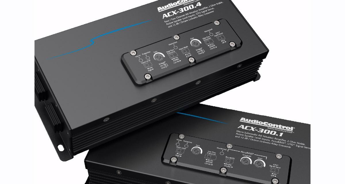 AudioControl : deux nouveaux amplis compacts pour les ATV