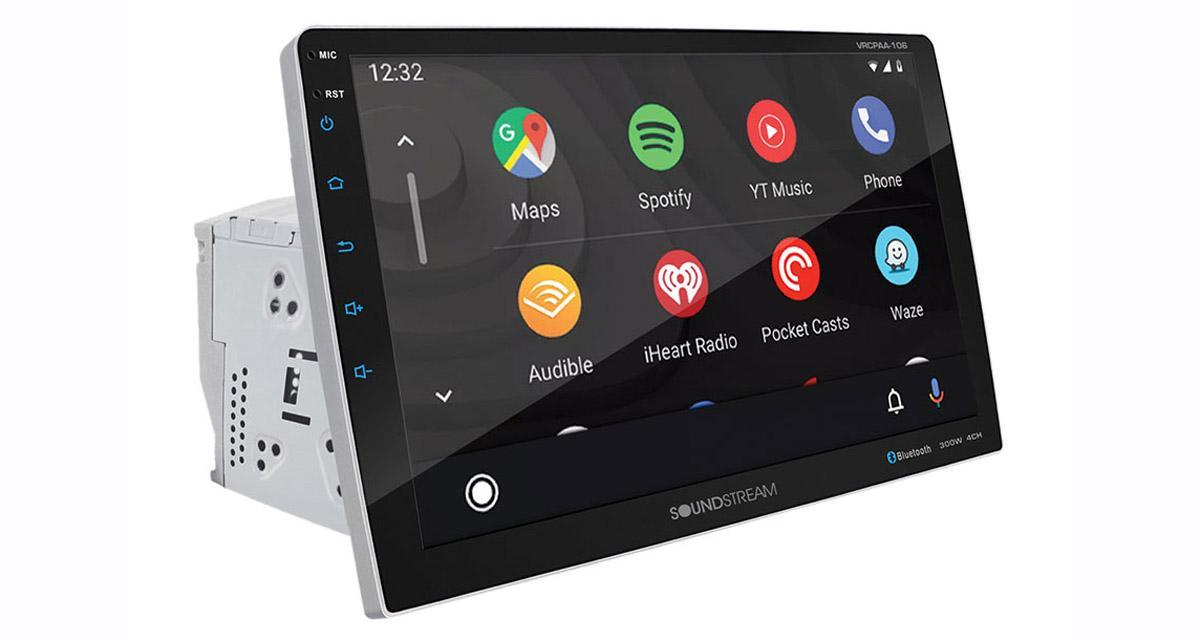 Soundstream dévoile un autoradio CarPlay et Android avec grand écran de 10 pouces