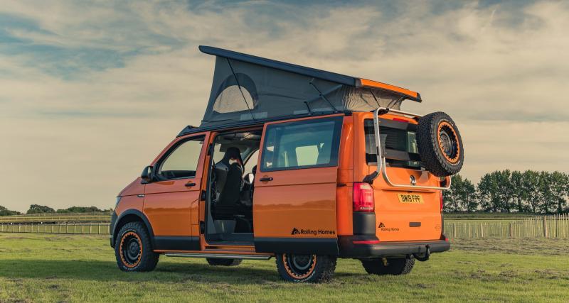 Expedition de Rolling Homes : le van qui porte bien son nom