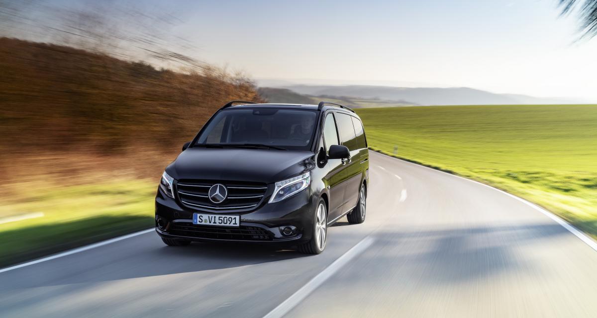 Mercedes Vito (2020) : le van best-seller mis à jour