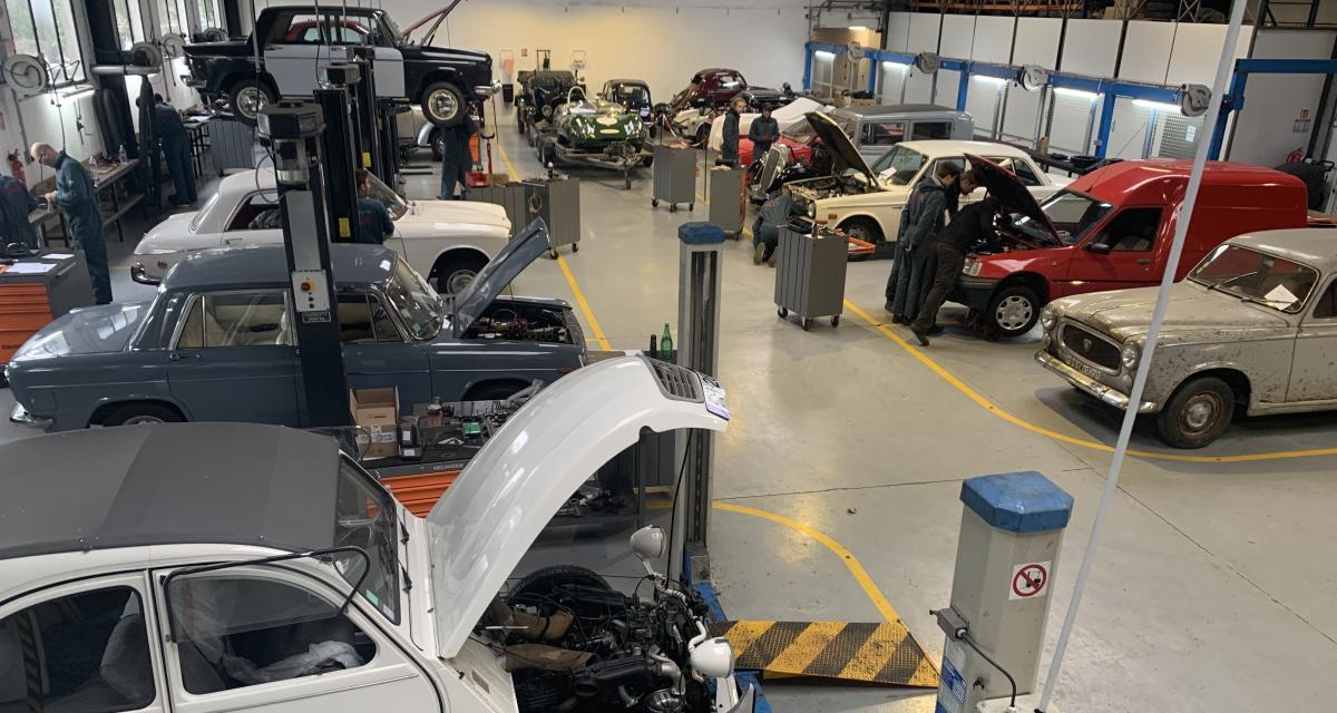 Restauration de véhicules anciens : dans les coulisses du centre de formation CNVA